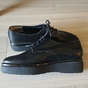 Robert Clergerie Shoes - NEW Robert Clergerie Black Leather shoes - US Sz 6